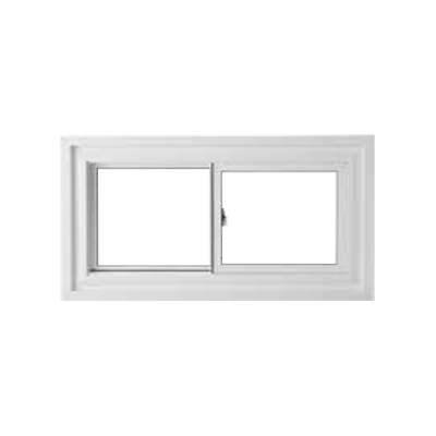 Exterior Single Double Glider Windows